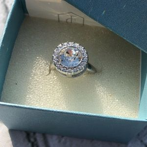 Touchstone Crystal Ring - size 6